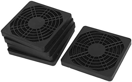 VNDEFUL 5PCS 80mm Computer Dustproof Fan Protector Dust Filter Cover Grill product image