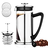 Best French Presses - Bebeke French Press Coffee Maker - Multi Filtration Review