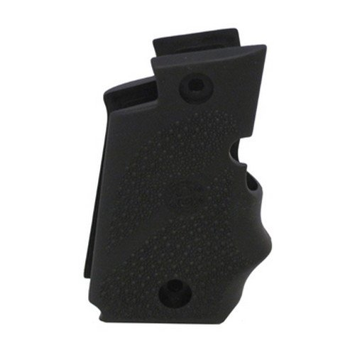 Hogue Wraparound Rubber Grips with Finger Grooves, Black - 38080