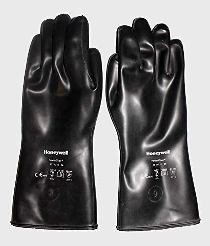 HONEYWELL PowerCoat Chemikalien-Schutzhandschuhe schwarz Gr. 9 Schutzhandschuh