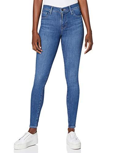 Levi's 720 Hirise Super Skinny Jeans, Eclipse Craze, 24W / 30L para Mujer