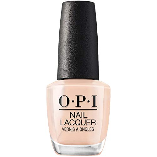OPI Nail Polish, Nail Lacquer, Samoan Sand, Pink Nail Polish, 0.5 Fl Oz