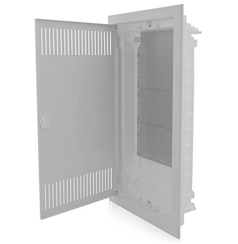 Kommunikationsverteiler Multimediaverteiler Unterputz 717x346x92mm IP40 perfekt für die Ordnung der Multimediasysteme