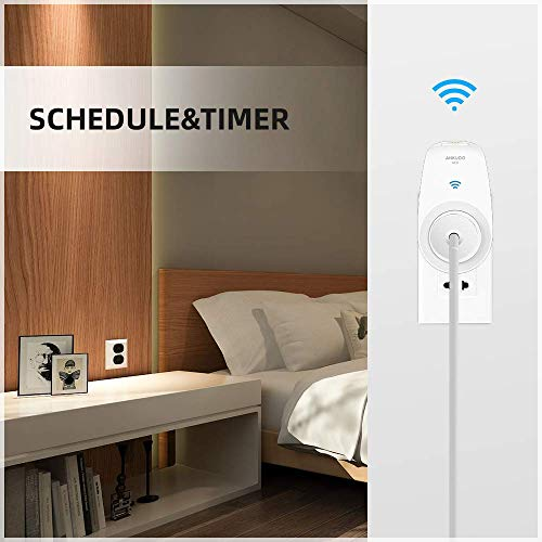 Ankuoo NEO PRO Wi-Fi Smart Switch for Controlling Electronics and Monitoring Energy Usage with Home...