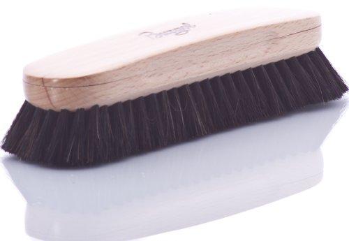 Burgol Burgol Rosshaar-Polierbürste, schwarz, 22 mm Haarlänge, Handeinzug