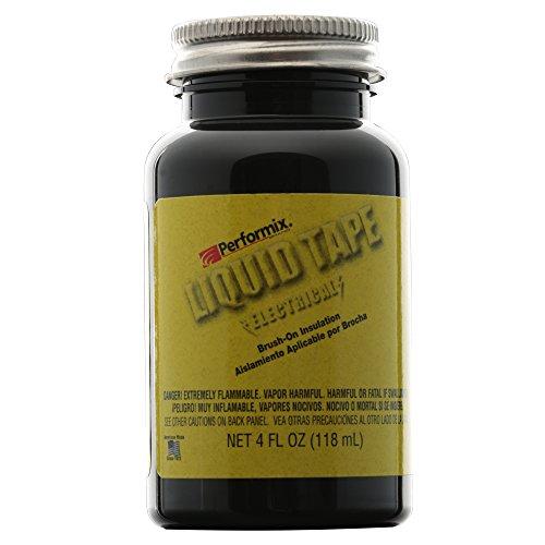 Performix Electrical Liquid Tape, schwarz, 118 ml, 4 oz. Original Plasti Dip Made in USA - Sectorcam, für Elektronik und Modellbau.