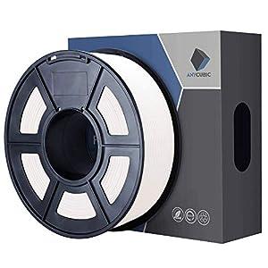 ANYCUBIC PLA Filamento 1KG 1.75mm per Stampante 3D, Low Odor Dimensional precisione dimensionale +/- 0,02 mm (A-Bianco)