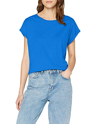 Urban Classics ErwachsenDamen Ladies Extended Shoulder Tee T-Shirt, brightblue, XXL