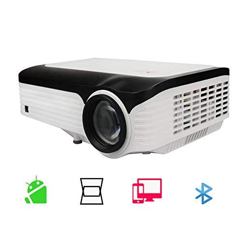 TAIQIXI Videoproiettore per L'home Theater con Proiettore Full HD 1080p Senza Fili A Casa Senza Fili Wi-Fi Proiettore per Ufficio(2G+16G)