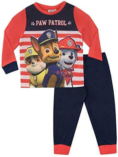 Paw Patrol Pijama para Niños La Patrulla Canina Multicolor 4-5 Años