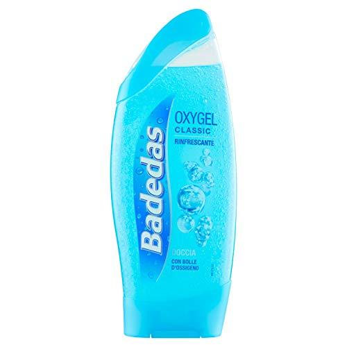 Baddas - Oxygel Classic douche, verfrissend, met bubbles zuurstof - 250 ml
