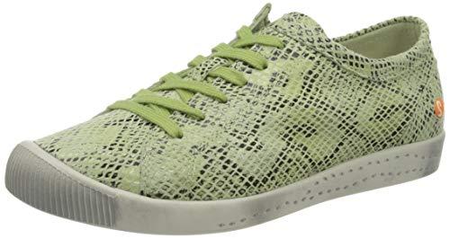 Softinos Damen ISLA Sneaker, Grün (Green 587), 37 EU