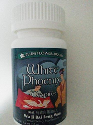 White Phoenix Teapills Wu Ji Bai Feng Wan Plum Flower 200 Pill/bt,black Chicken White Phoenix Pills, Wuchi Paifeng Wan, Standard Dosage 8 Pills, 3 X Per Day