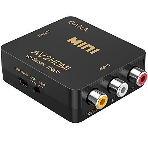 RCA to HDMI, AV to HDMI,GANA 108...