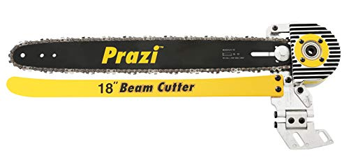 Prazi USA PR-8000 18' Beam Cutter - Circular Saw Blade and Chain Attachment