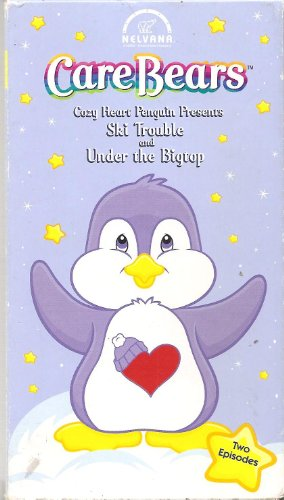 Care Bears #16 Cozy Heart Penguin Presents Ski Trouble and Under the Bigtop