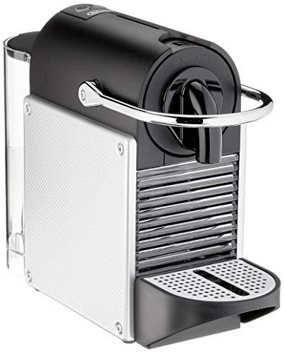 De'Longhi Nespresso EN 124.S Kapselmaschine Pixie Silber | 1260 Watt | 0,7 Liter | Seitenpanels aus recycelten Nespresso Kapseln