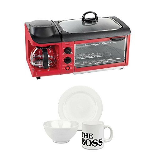 All-In-One Breakfast Maker - Red