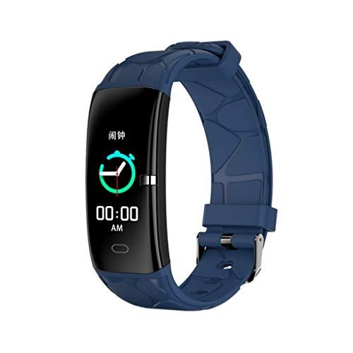 Bowcore Activity Tracker, waterdicht, intelligente armband met hartslagmeter en bloeddrukmeter voor sport kleur smartband heren dames stappenteller 01