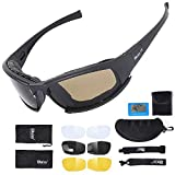 Gafas de sol deportivas polarizadas para hombres y mujeres tácticas militares – Gafas de sol...
