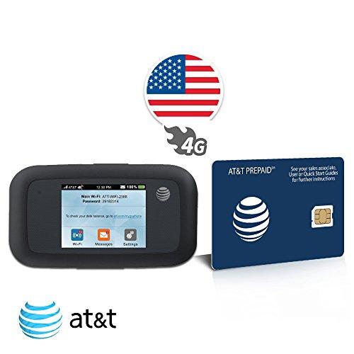 Router WiFi Hotspot - AT&T Velocity - ZTE MF923 - Internet Ilimitato in 4G LTE - 30 Giorni - USA