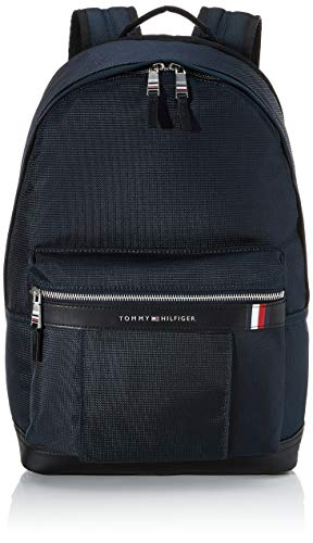 Tommy Hilfiger Herren Elevated Nylon Backpack Rucksack, Blau (Sky Captain), 1x1x1 cm