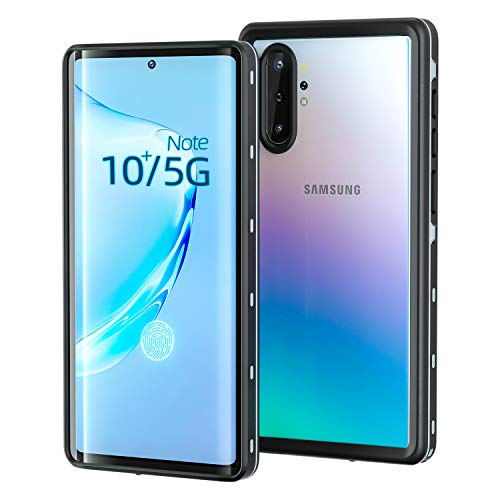 meritcase Galaxy Note 10+ Plus Case, IP68 Waterproof Note10+ Plus Case- Built in Screen Protector Full Body Protective Shockproof Dirtproof Underwater Cover for Samsung Note 10+ Plus/Note 10+ Plus 5G