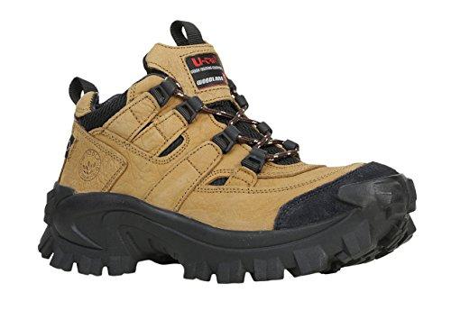 Woodland Men's Camel Leather Sneakers-7 UK/India (41 EU) (G 40777CMA)