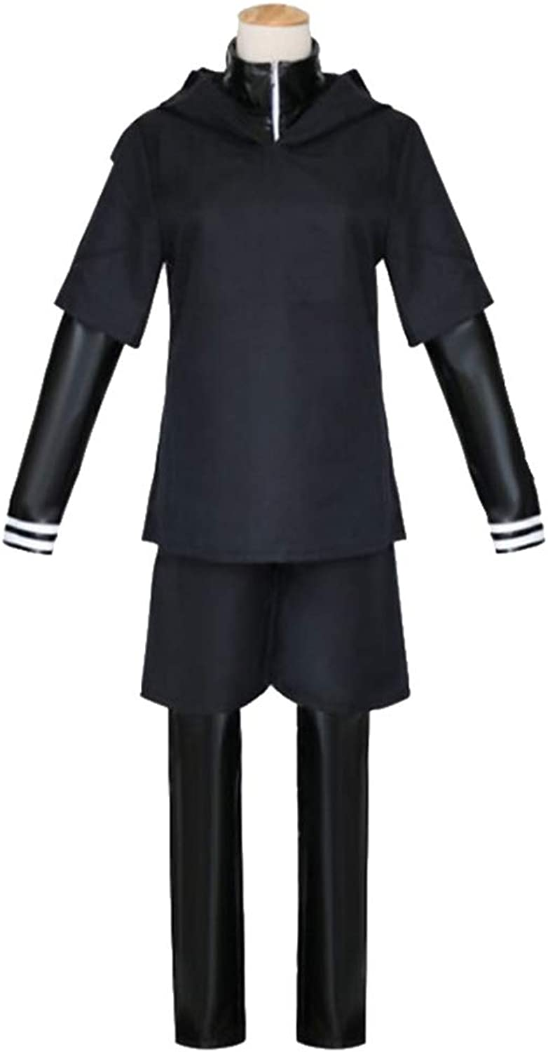 I TURE ME Tokyo ghouls ken kaneki cosplay costume clothes Tokyo Ghouls clothing japanese anime Mens Anime Handsome Boy's Black Cosplay Costumes