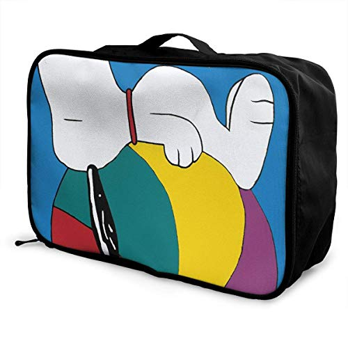 Travel Duffel Bag Beach Ball Lightweight Large Capacity Portable Lage Bag Weekender Bag Overnight Carry-on Tote
