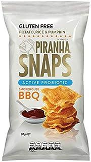 Piranha Snaps Probiotic Smokehouse BBQ 50 g, 50 g