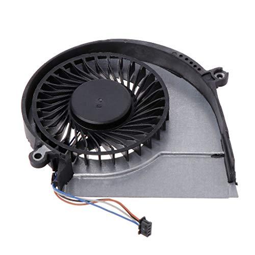 GREEN&RARE Cooling Fan, Laptop CPU Cooler Computer Replacement 4 Pins for HP Pavillion 14E 15E 17E 14-E 15-E 17-E