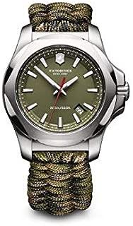 Victorinox Swiss Army–Reloj de Pulsera para Hombre i.n.o.x. analógico de Cuarzo Textil 241727.1