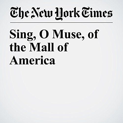 Sing, O Muse, of the Mall of America copertina