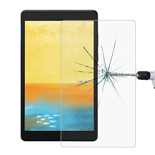 YGMO SMSE AYDD 0.4mm 9h Dureza Superficial Pantalla Completa Película de Vidrio Templado para Lenovo Tab E8