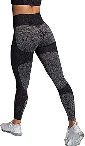 Davicher Leggings Mujer Yoga Alta Cintura Mallas
