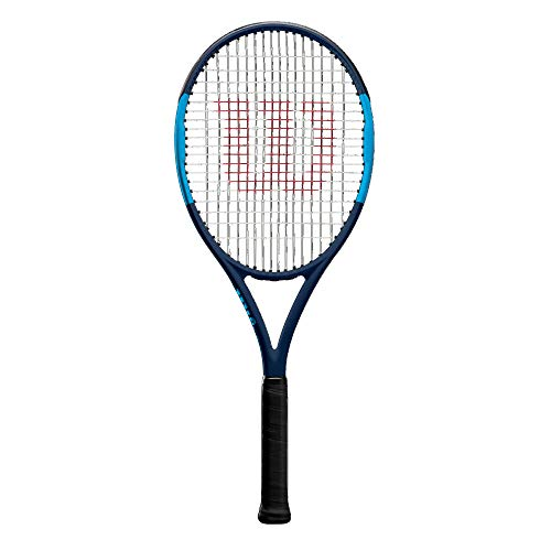 Wilson Tennisschläger, Ultra Team, Unisex, Ambitionierte Freizeitspieler, Griffstärke L3, Navy/Blau, WR000510U3