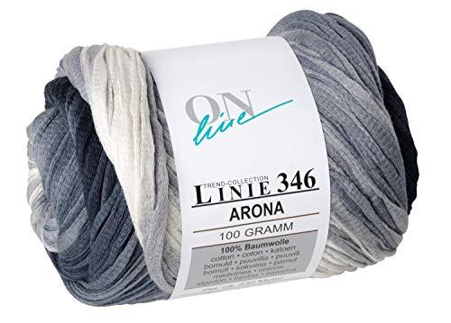 ONline Wolle Linie 346 ARONA Fb. 101, 100 g ~ ca. 230 m