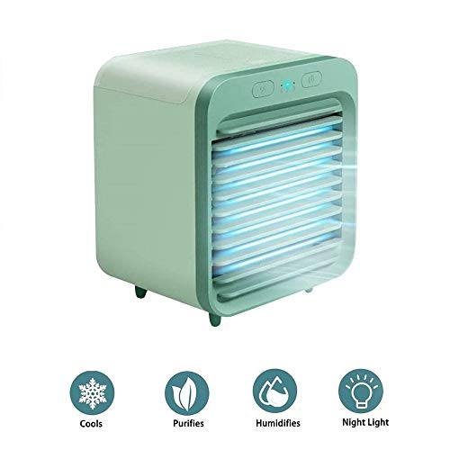 NIONE 2020 Portable USB Rechargeable Water-Cooled Air Conditioner Can be Used Outdoors