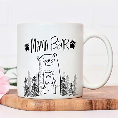 Mum mug | Mama Bear | Mothers Day Cup presents from daughter | gifts for mums birthday | Christmas mother or sibling gift