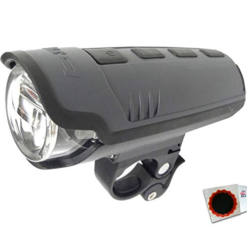 BUSCH+MÜLLER Batterie-LED-Scheinwerfer Ixon Pure B IXON Pure B schwarz +Flicken