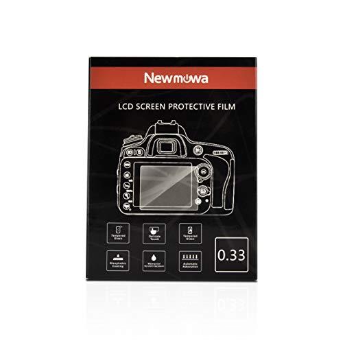 Newmowa Pellicola Protettiva per Nikon D3100 D3200 D3300 D3400 D3500 AW130S, 1 Proteggi Schermo in Vetro Temperato Screen Protector AntiGraffio per Fotocamera Digitale DSLR