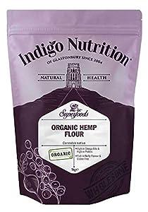Indigo Herbs Harina de Cáñamo Orgánica 1kg