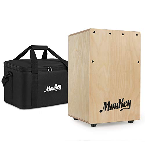 Moukey Full Size Cajon Drum DCD-1 Wooden Drum Box review