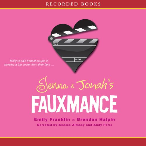 Jenna and Jonah's Fauxmance audiobook cover art