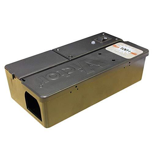 Rentokil FE35 Piège à Souris électronique Noir 17 x 8 x 5 cm sans Piles supplémentaires 17.100000000000001x8.8000000000000007x5.0999999999999996 cm Noir