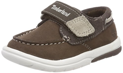 Timberland Unisex Baby Toddle Tracks Slipper, Braun (Promo Brown Naturebuck D40), 21 EU