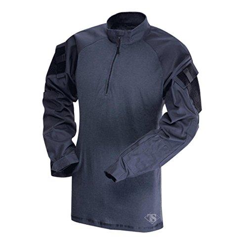 Tru-Spec T.R.U 1/4 Zip Combat Shirt Camicia, Blu Navy/Blu Navy, M Uomo