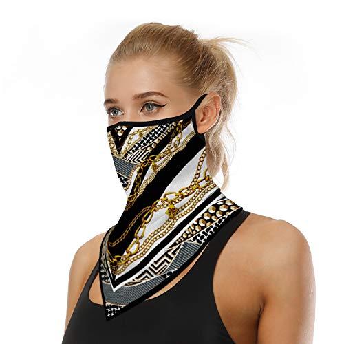 ARKIM Unisex Bandana Gesichtsmaske Schal Gesicht Rave Sturmhaube Hals Gamaschen Staubtuch Waschbare Wind Motorrad Maske Frauen Männer (Style-27)