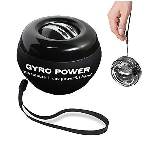 Xkfgcm Power Bola Energética Autostart Ejercitador de Brazo Bola Giratoria 100 Kg Agarre Muñeca Trabajar Fuera Brazo Antebrazo Ejercitador Gyro Ball para el Entrenamiento de la Musculatura